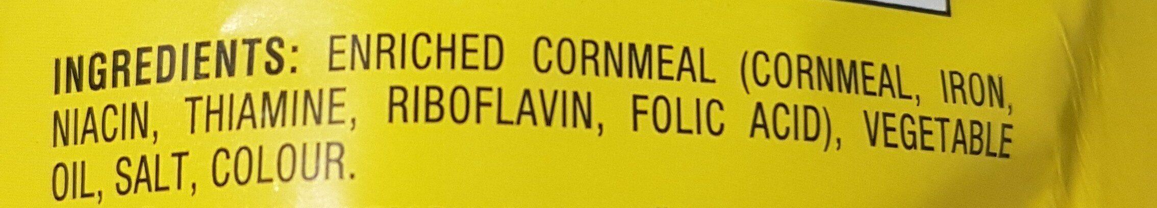 chesters corn twist - Ingrédients - en