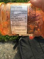 Salsa moyenne - Informations nutritionnelles - fr