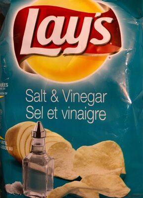 Chips sel et vinaigre - Product - fr