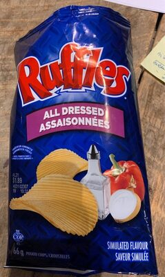 Ruffles all dressed - Produit - fr