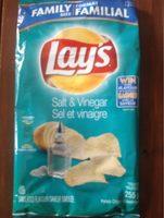Potato Chips - Salt & Vinegar - Product - fr