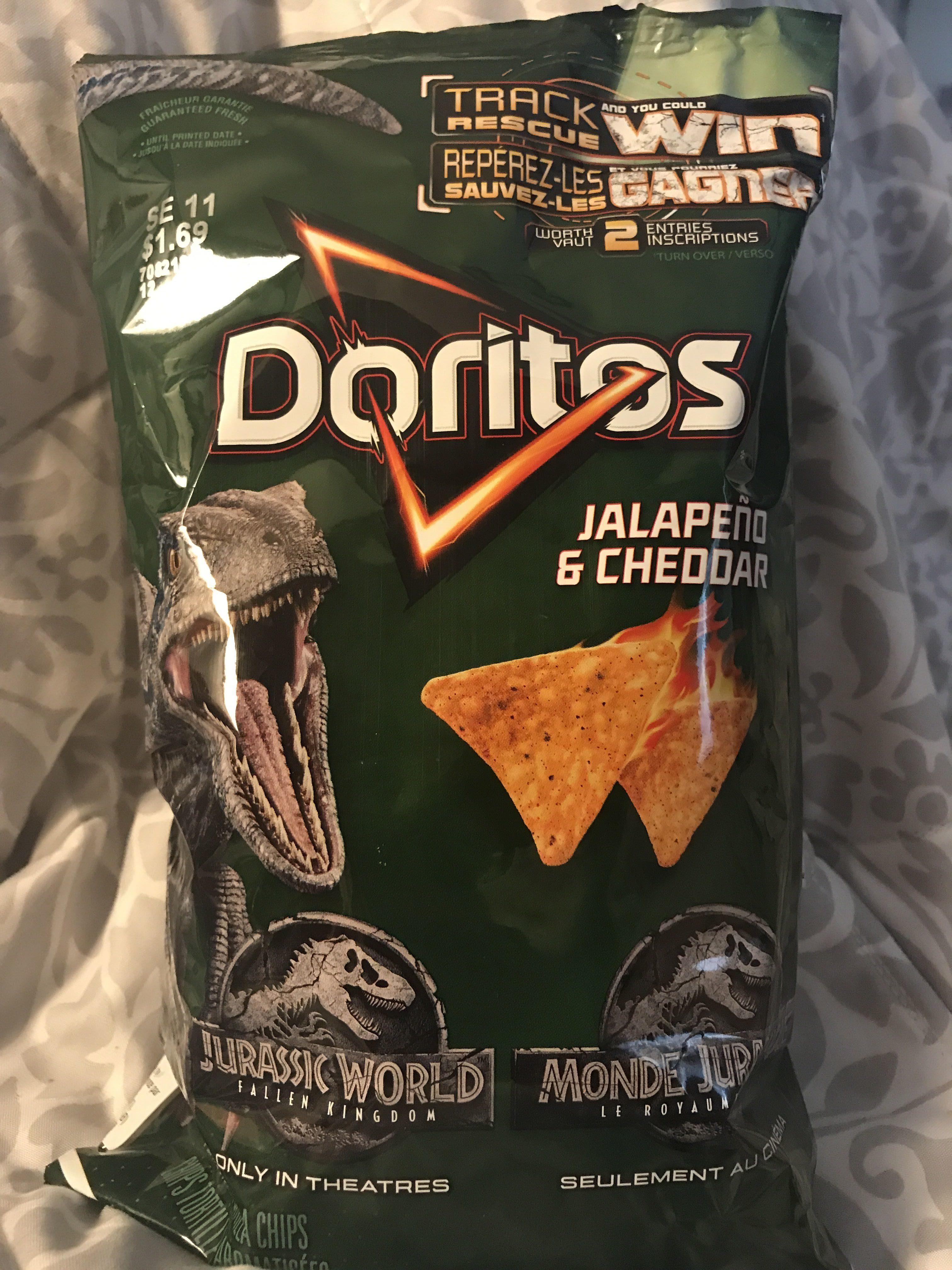 Jalapeño & Cheddar Doritos - Product - en