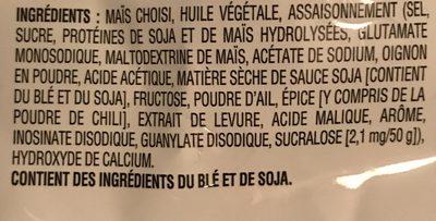 Tortilla Chips Sweet Chili Heat - Ingrédients - fr