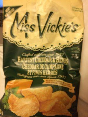 Harvest Cheddar & Herb Potato Chips - Produit - fr