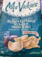 Croustilles (sel Marin & Vinaigre De Malt) - Produit