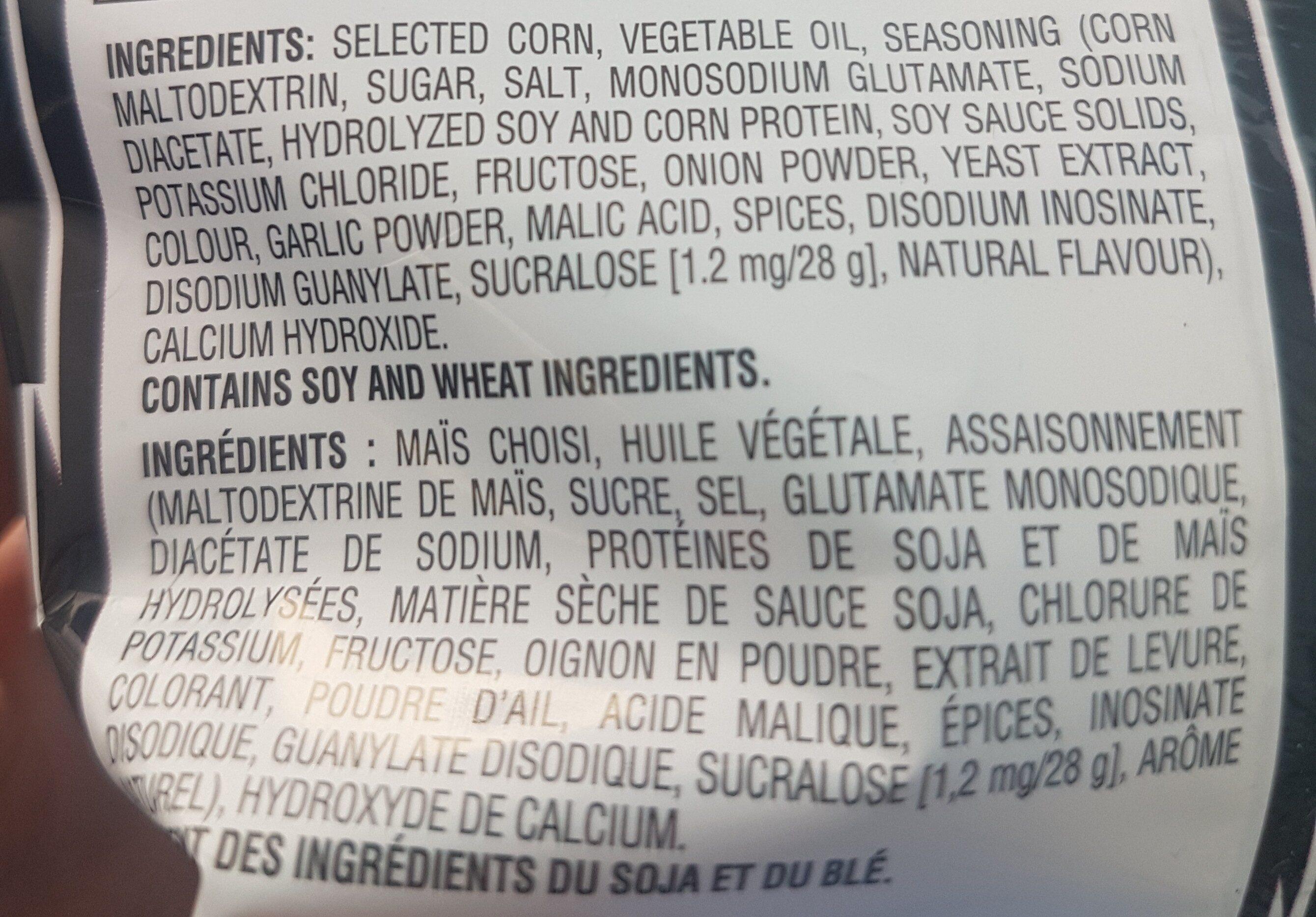 Doritos Sweet Chili Heat - Ingredients - en