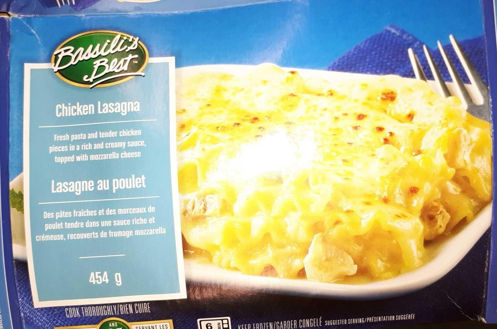 Chicken Lasagne - Product - en