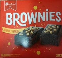 Brownies arachides et peanuts - Produit