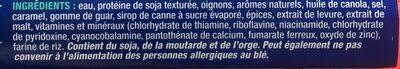 Veggie ground - Ingrédients - fr