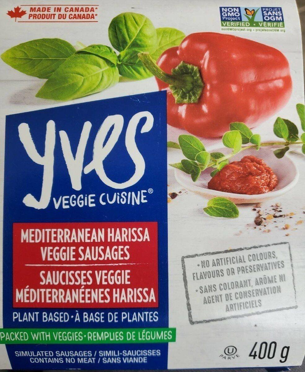 Saucisses vergue méditerranéenne harissa - Produit - fr