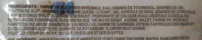 Bagels 12 Céréales - Ingrédients - fr