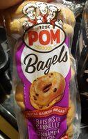 Bagels Raisins et Cannelle - Produit - fr