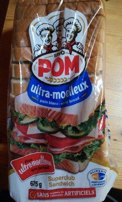 Ultra-moelleux pain blanc superclub sandwich - Produit - fr