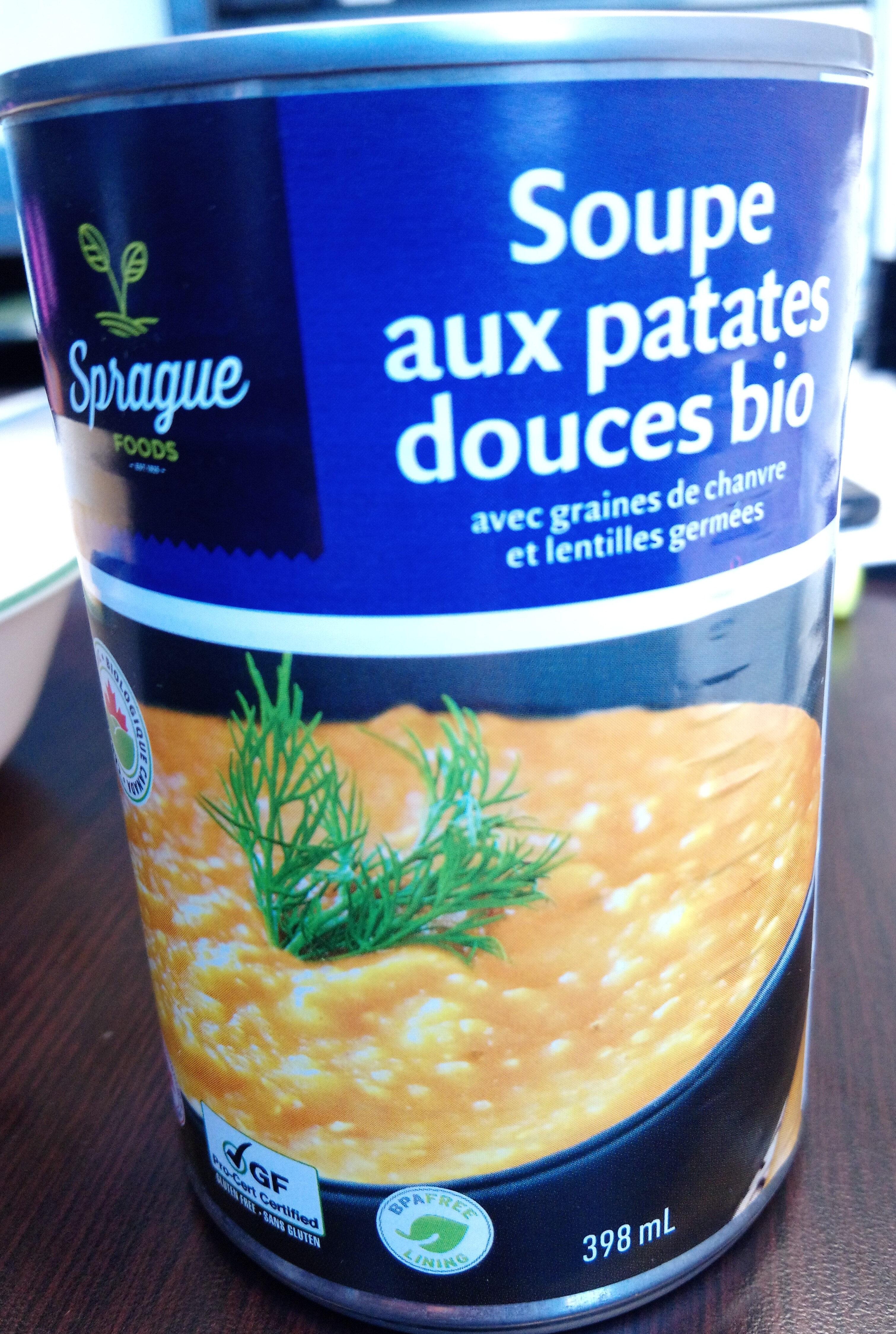 Soupe aux patates douces bio - Produit - fr