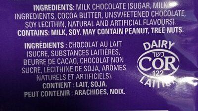 dairy milk - Ingredients - en