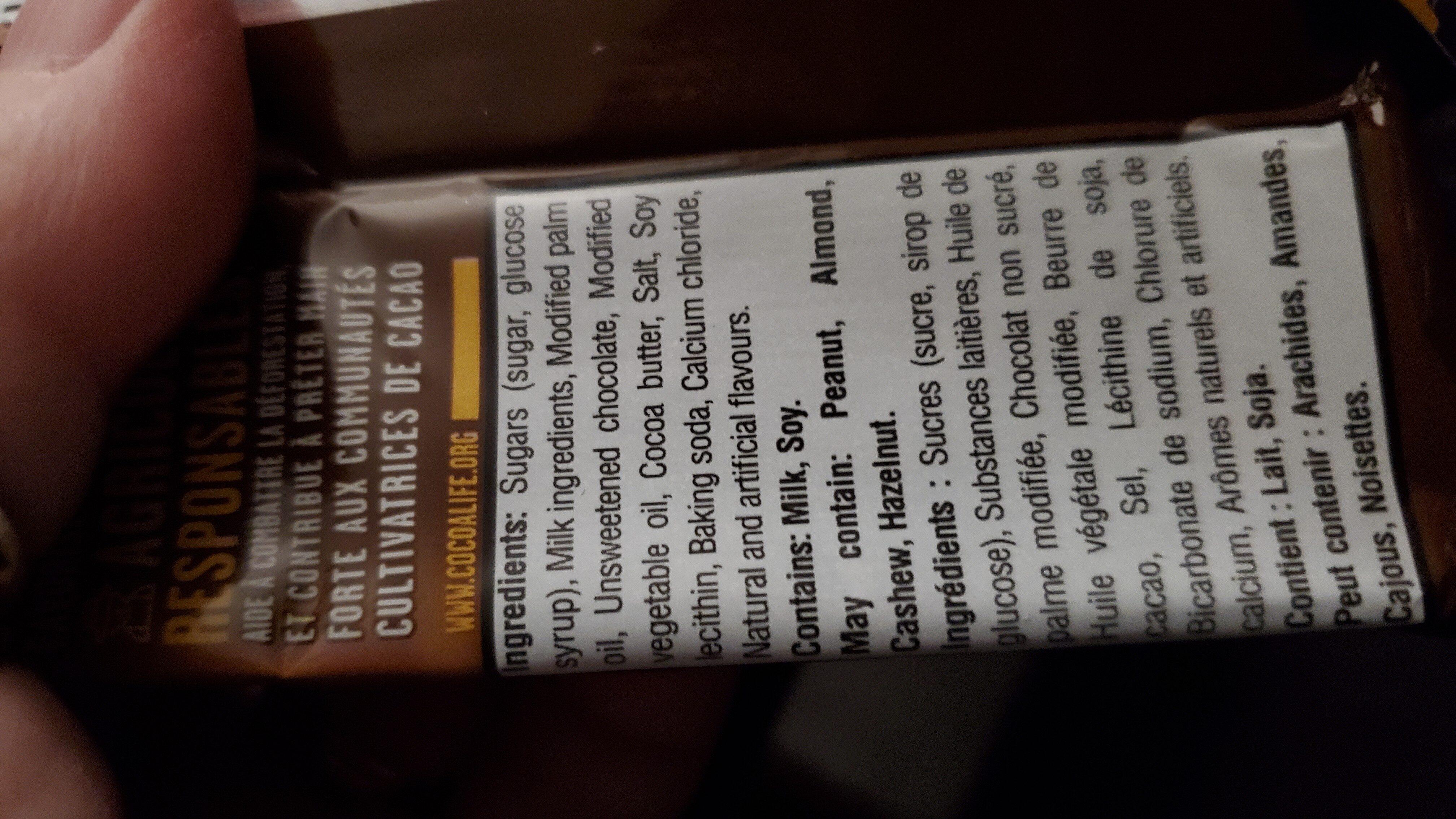 Caramilk - Ingredienti - en