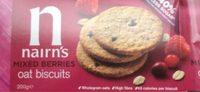 Oat biscuits mixed berries - Produto - en