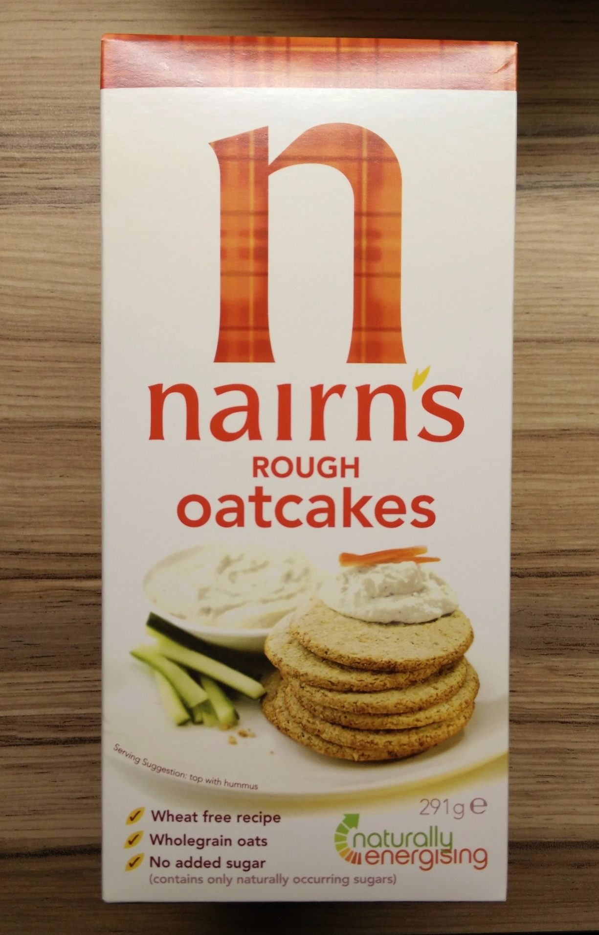 Nairns Rough Oatcake - Product
