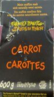 Muffins carrot - Produit - fr