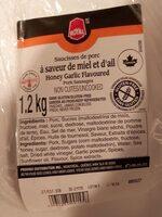 Saucisses de porc miel et ail - Product - fr