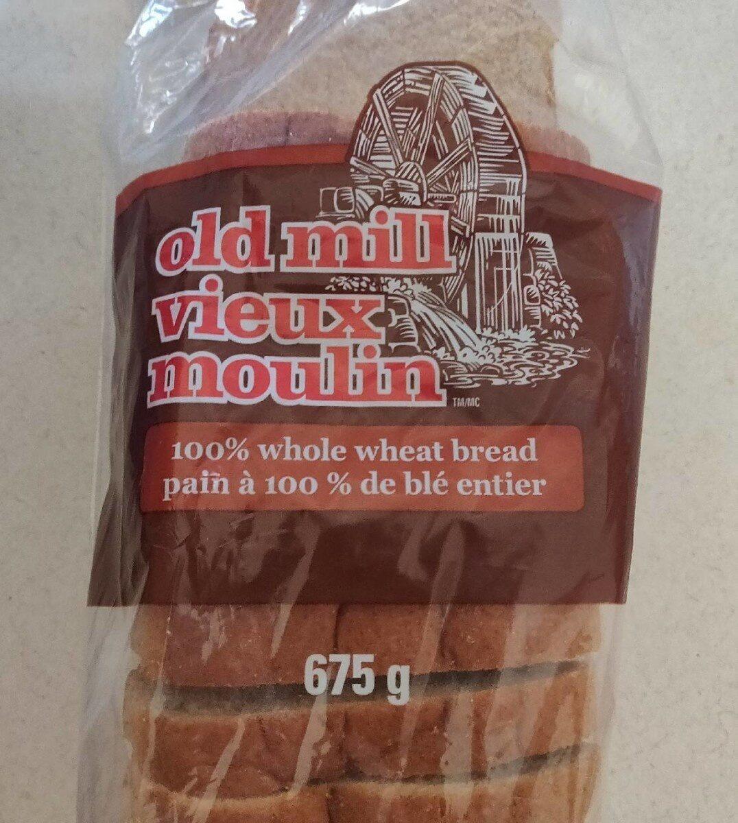 Old Mill 100% Whole Wheat Bread - Produit - en