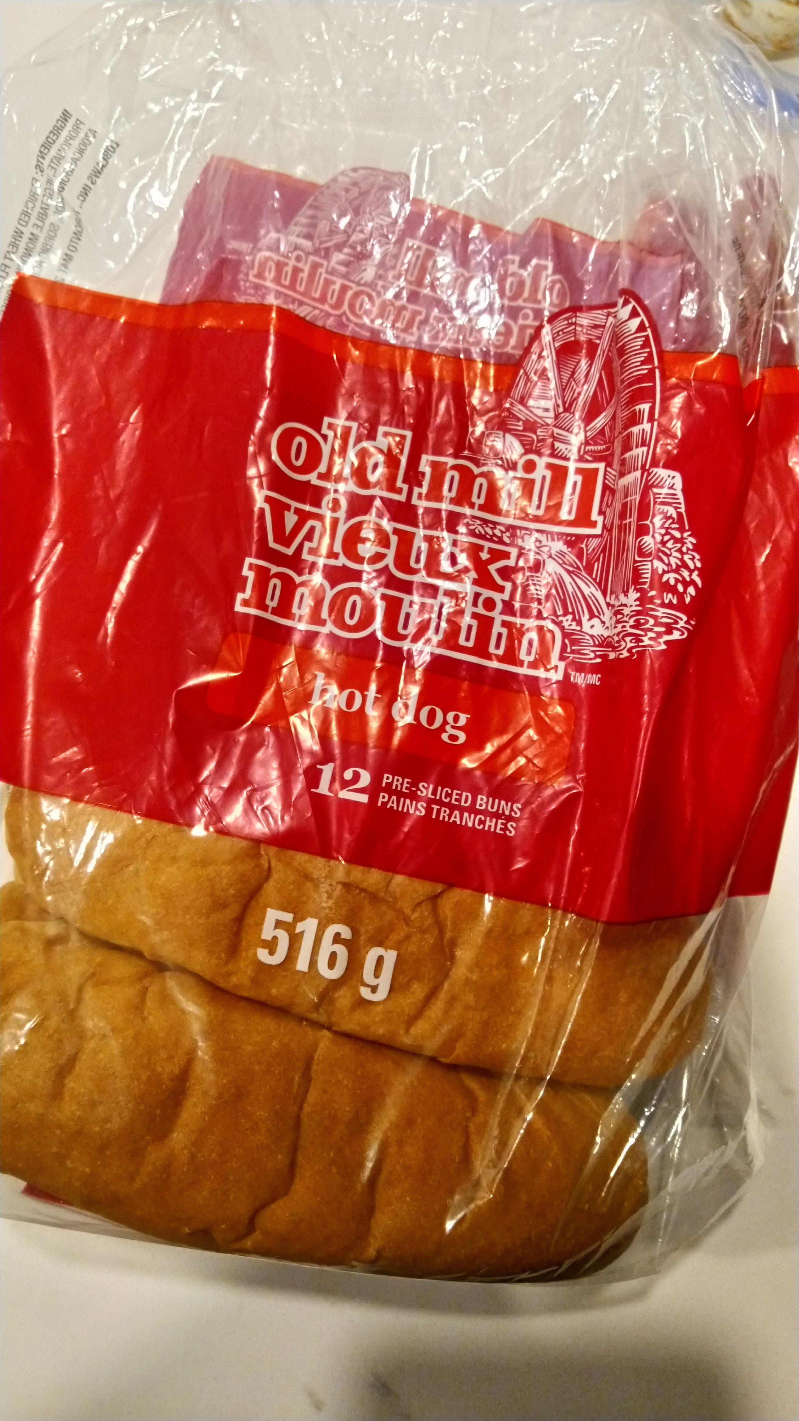 Hot Dog Buns - Produit - en