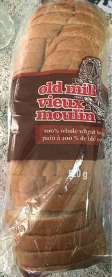 100% whole wheat bread - Produit