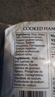 Extra lean ham - Ingredients - en