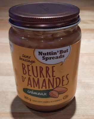 Almond butter - Product - fr