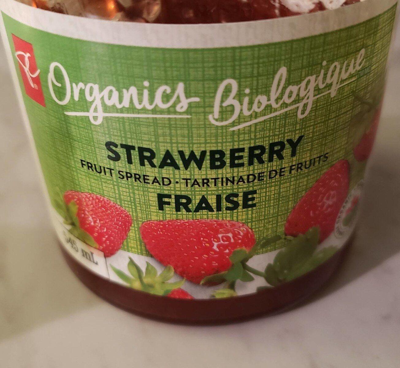 Strawberry spread - Produit - zh
