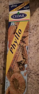 Pate phyllo - Product - fr