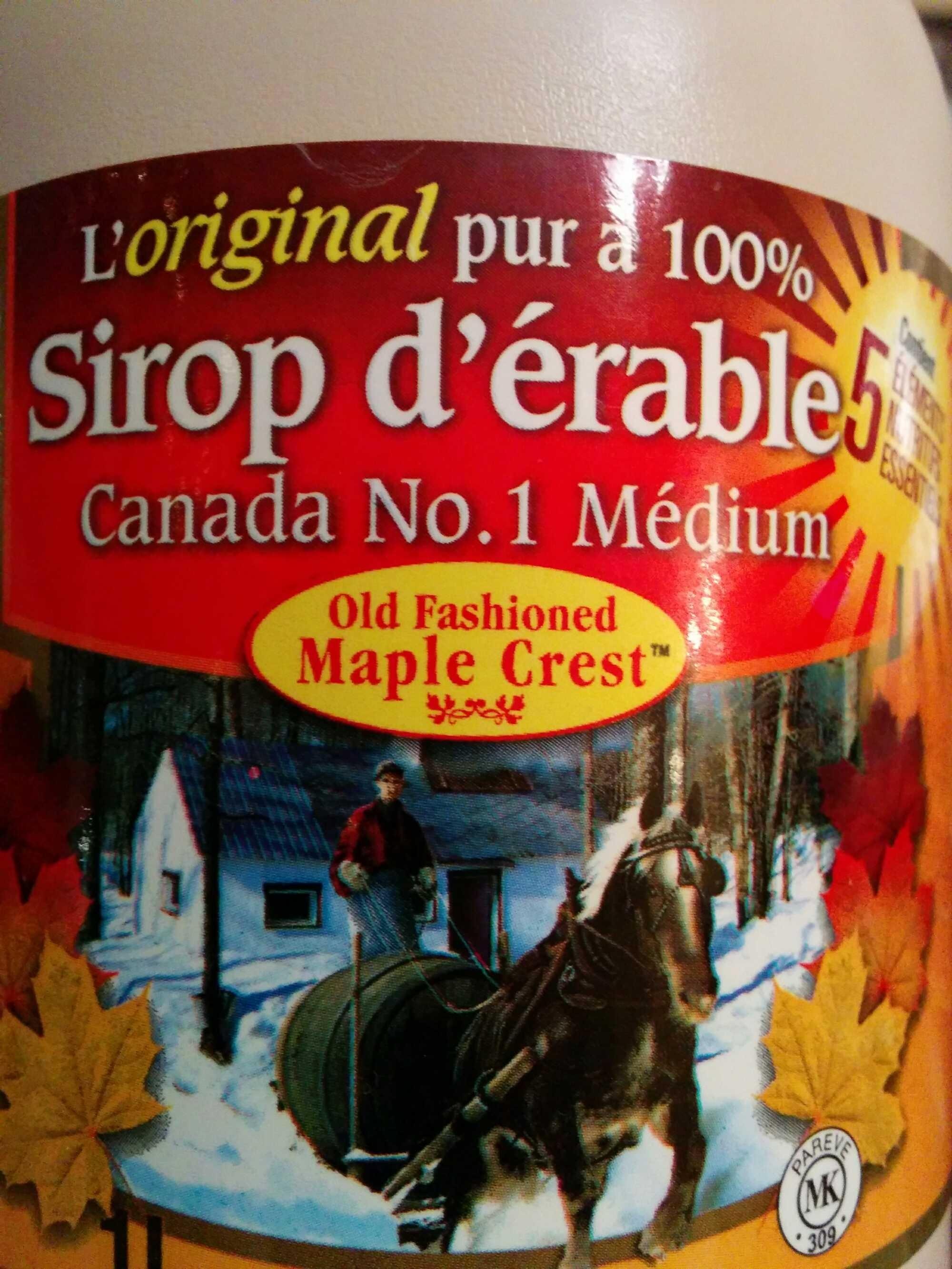 Maple Syrup - Produit - en