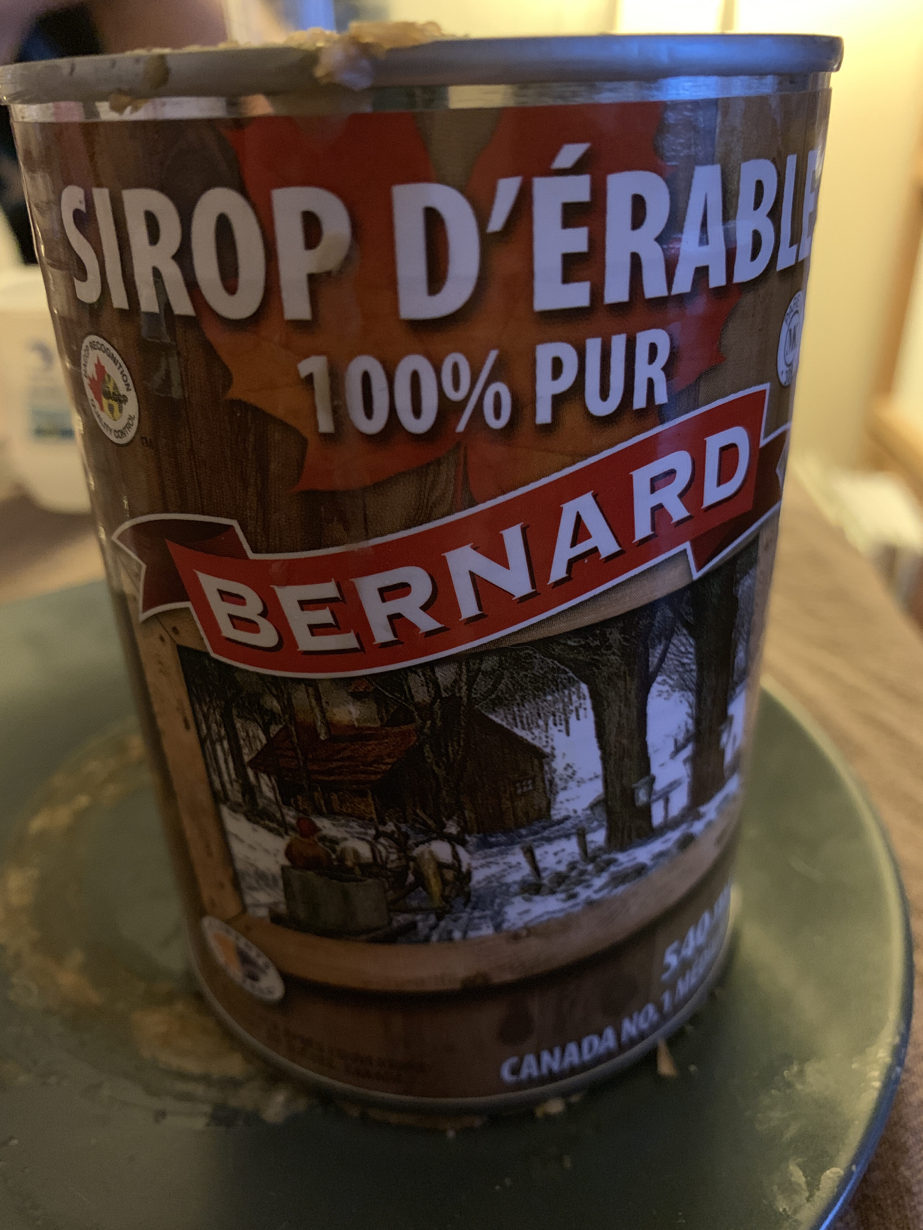 Sirop D'erable 540 ml - Product - fr