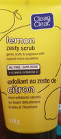 lemon zesty scrub - Product - en