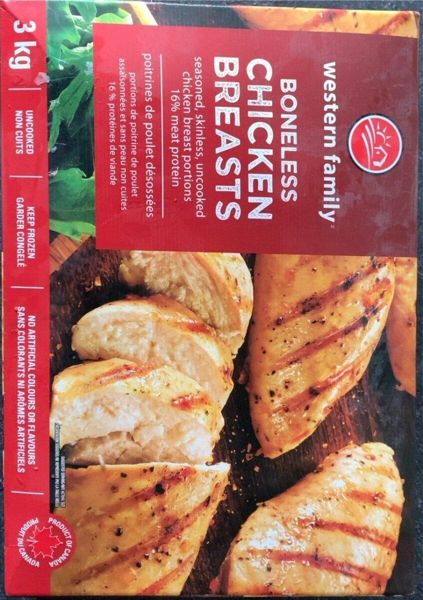 Boneless chicken breast - Product - fr