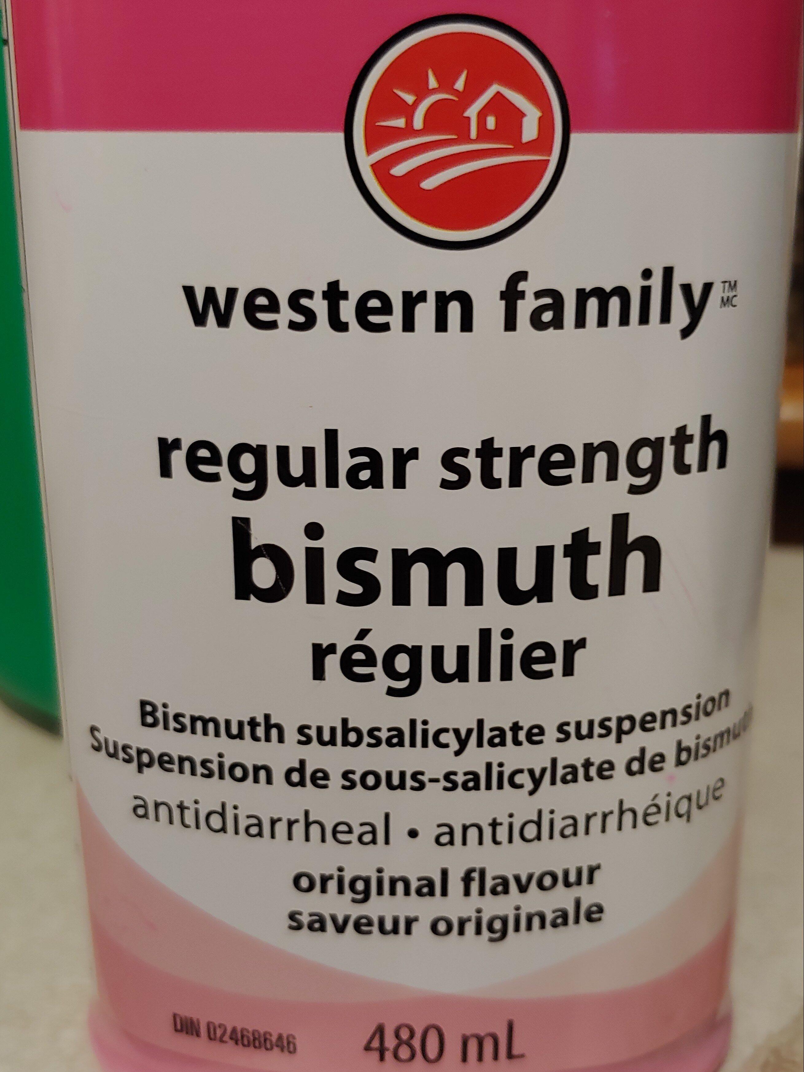 Western Family Regular Strength Bismuth - Produit - en