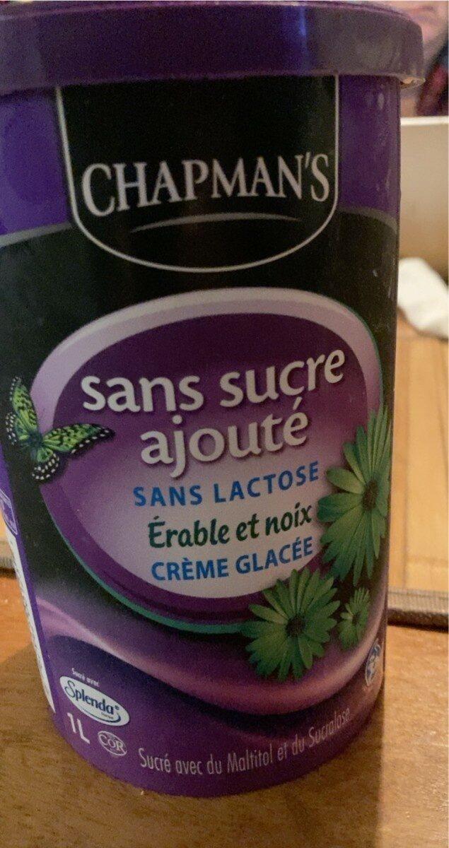 Crème glacée érable et noix - Product - fr