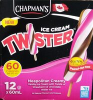 Ice Cream Twister Neapolitan Creamy - Product - en