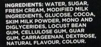 Ice Cream Twister Neapolitan Creamy - Ingredients - en