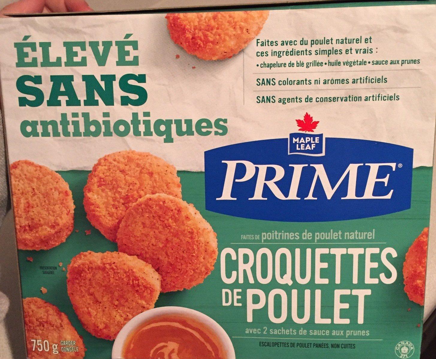 Croquette de poulet - Product - fr