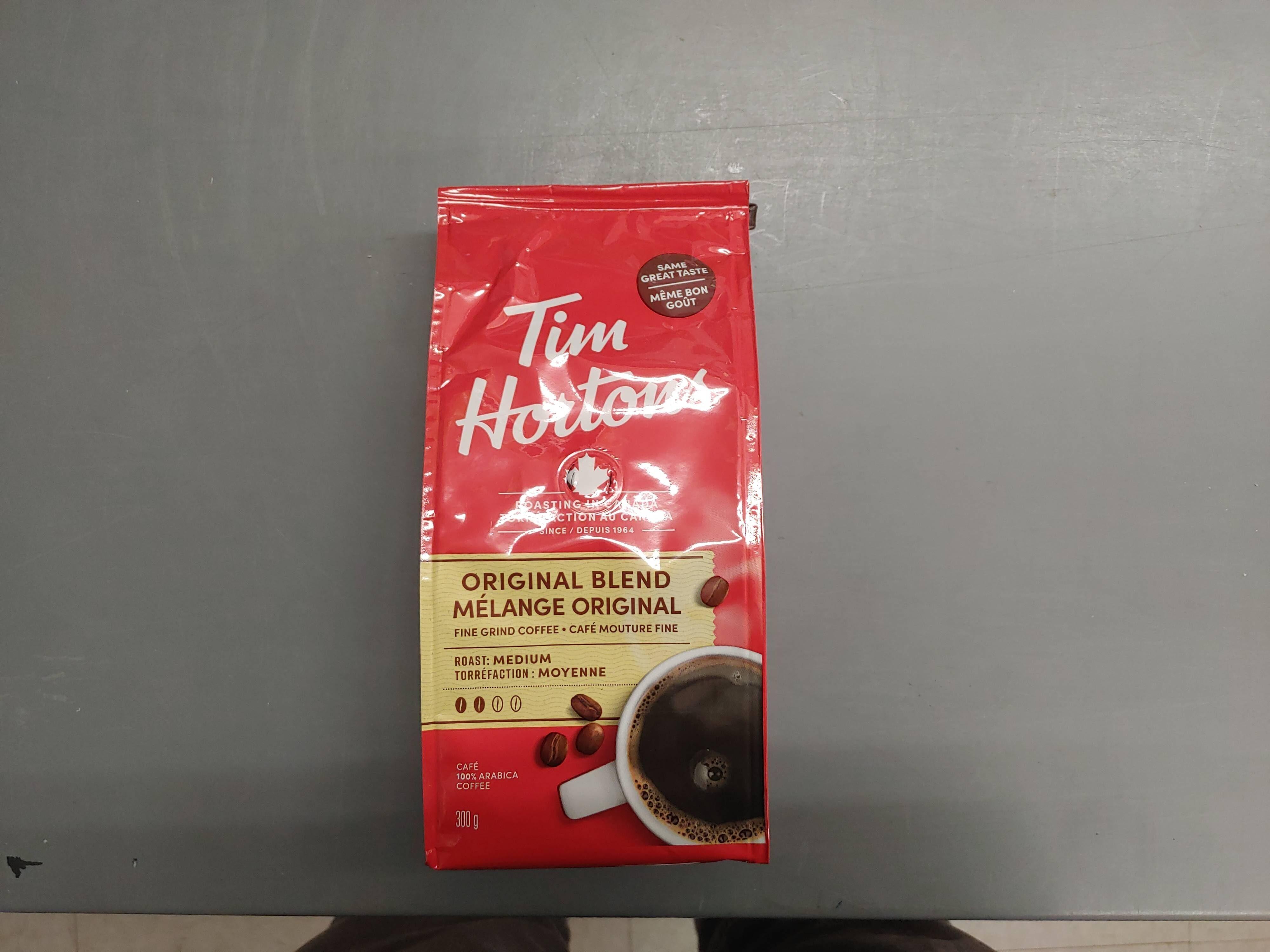 Tim Hortons Original Blend Coffee - Produit - en