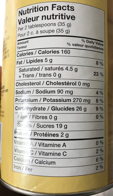 tim hortons nutrition info