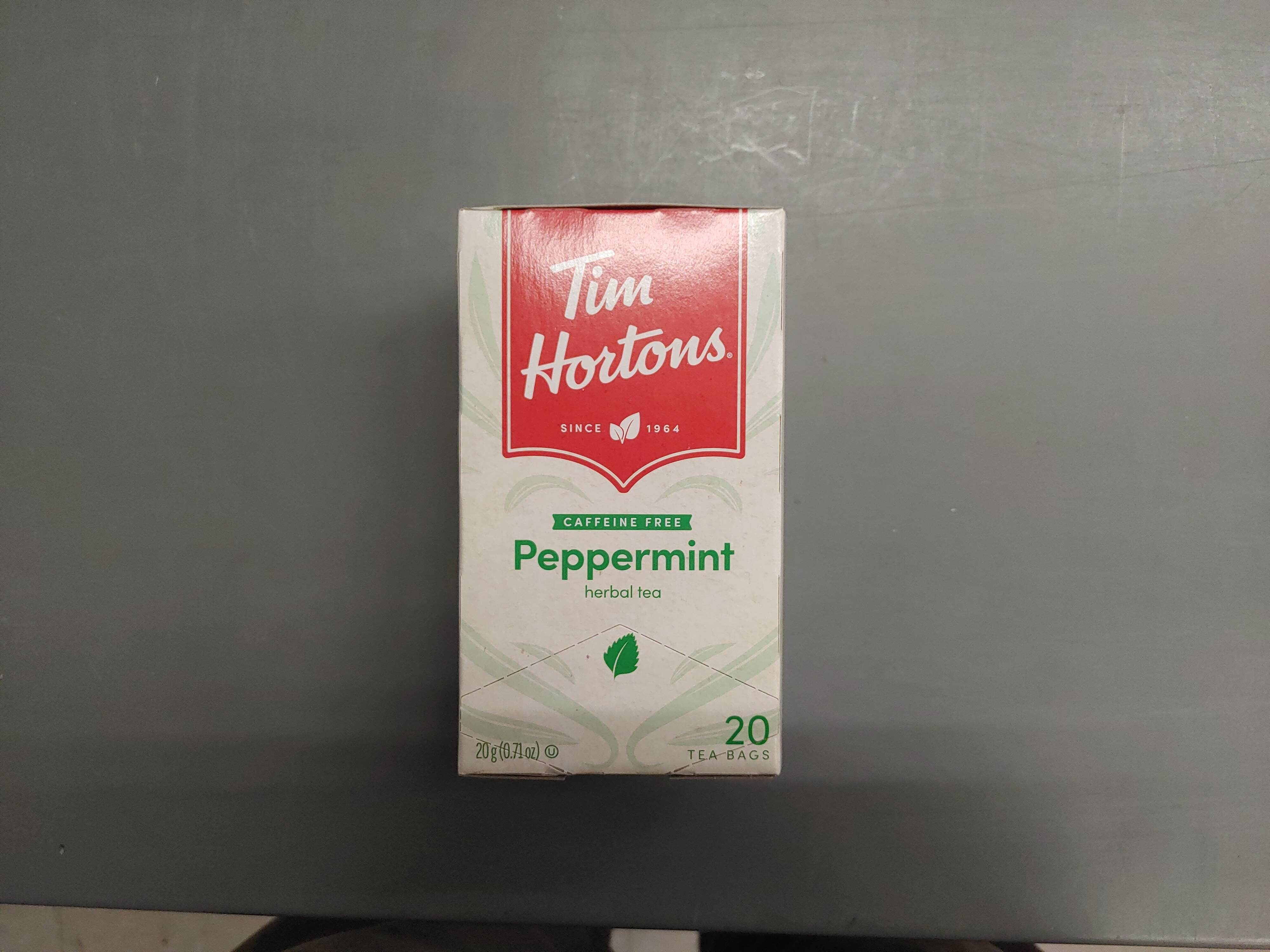 Tim Hortons Peppermint Tea - Produit - en