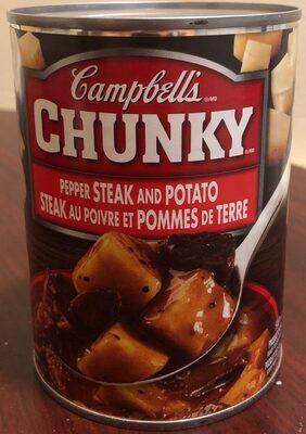 Pepper steak and potato - Product - fr