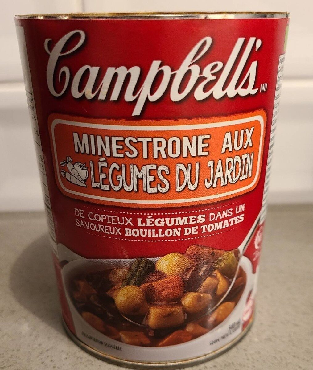 Soupe Campbell's Minestrone - Product - fr