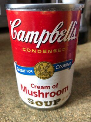 Campbells Condensed Cream Of Mushroom Soup - Product