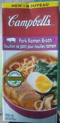 Bouillon de porc pour nouilles ramen - Produit - fr