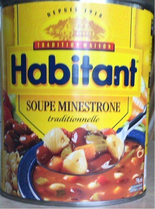 Soupe Minestrone - Produit - fr