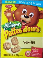My First Bear Paws Vanilla - Produit - fr