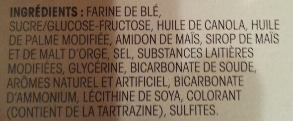 Thé social biscuit - Ingrédients - fr